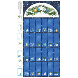 O Christmas Tree Advent Calendar Panel