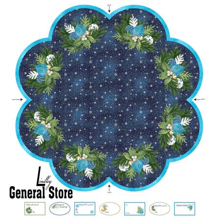 O Christmas Tree Skirt Panel