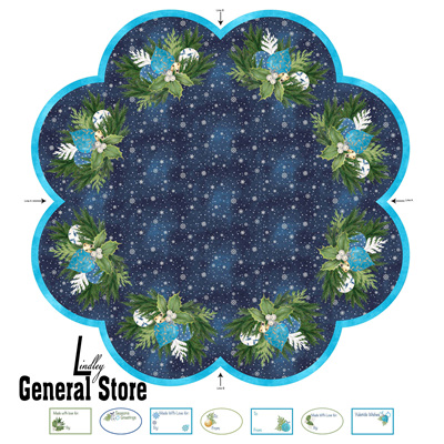 O Christmas Tree Skirt Panel