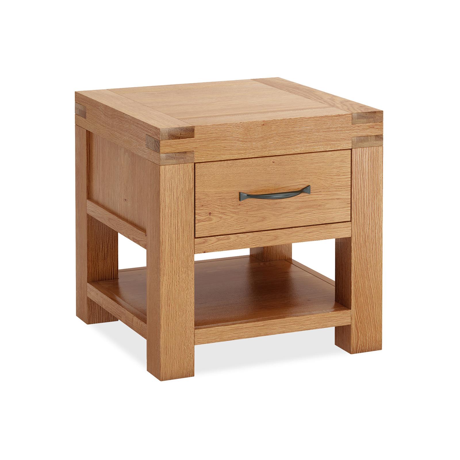 SHERWOOD OAK LAMP TABLE The BEST Furniture Shop