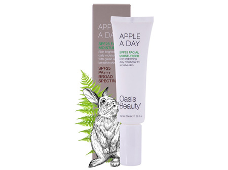 Oasis Apple a Day SPF 25 Brightening Moisturiser