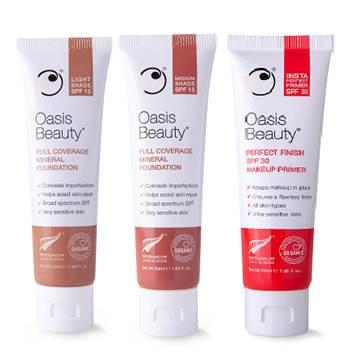 Oasis Beauty SPF 15 Medium 50ml