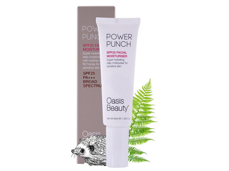 Oasis Power Punch SPF 25 Hydrating Moisturiser