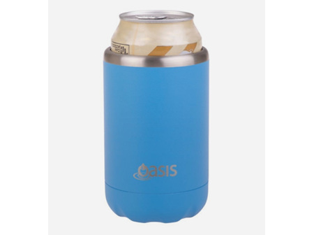 Oasis S/S Insulated Cooler Calypso Blue 375ml