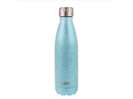 Oasis Stainless Steel  Bottle Artic Blue 500ml