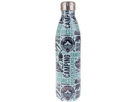 Oasis Stainless Steel Bottle Wanderlust 500ml