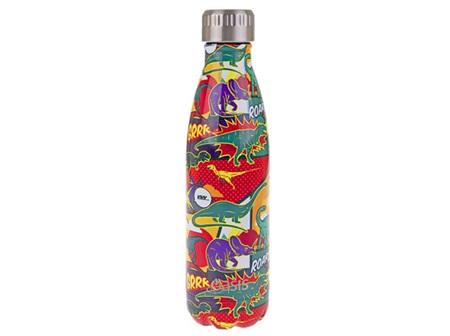 Oasis Stainless Steel Dinosaur Bottle 500ml