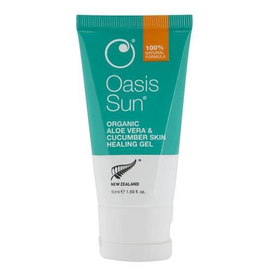 Oasis Sun Aloe Vera & Cucumber Healing Gel