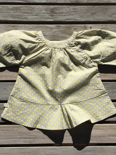 Obaibi Baby Grey and Yellow