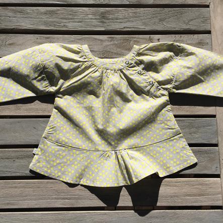 Obaibi Baby Grey and Yellow