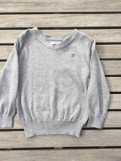 Obaibi boys grey jumper