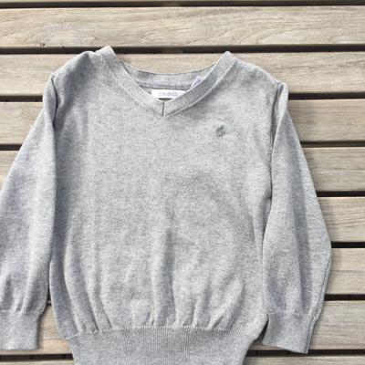 Obaibi boys grey jumper