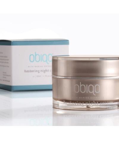 Obiqo Restoring Night Cream