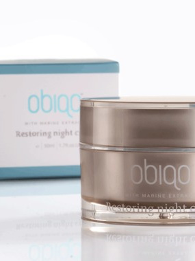 Obiqo Restoring Night Cream