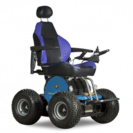Observer Beach Special Edition 4WD All Terrain Electric Wheelchair