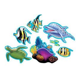 Ocean card cutouts