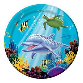 Ocean larger size plates