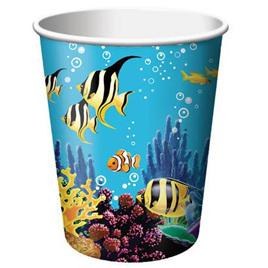 Ocean Party Cups x 8
