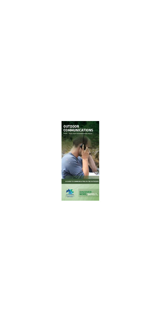 OCP - Outdoor Communications Pamphlet