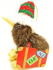 OE kiwi kiwiana Christmas decoration