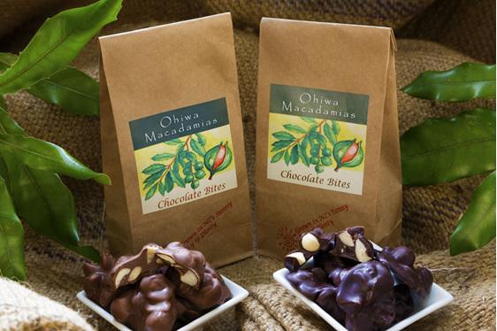 Ohiwa Macadamias Dark Chocolate Bites