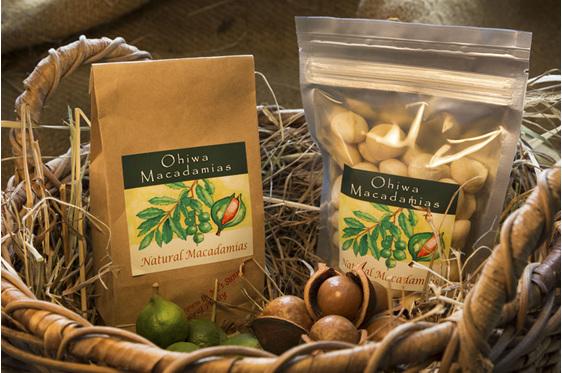 Ohiwa Macadamias Natural nuts