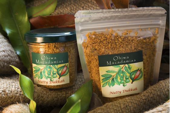 Ohiwa Macadamias Nutty Dukkah jar