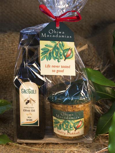 Macadamia Dukkah & Olive Oil Set