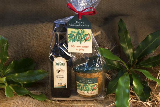 Ohiwa Macadamias Olive oil dukkah combo