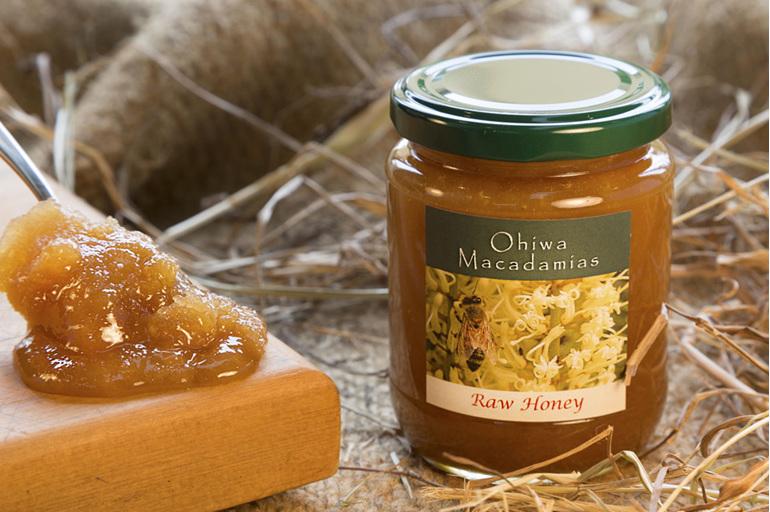 Ohiwa Macadamias Raw Honey
