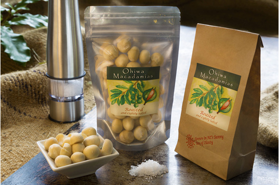Ohiwa Macadamias roasted & salted nuts
