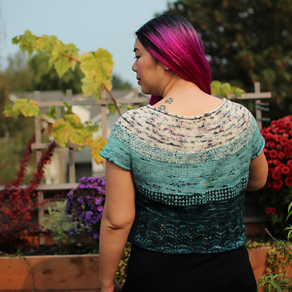 Ohmay Tee by Norichan Knits - Pattern