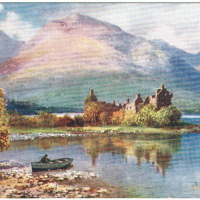 Oilette Postcards Bonnie Scotland