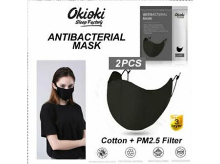 OKIOKI A/bact. Reusable Mask 2pk