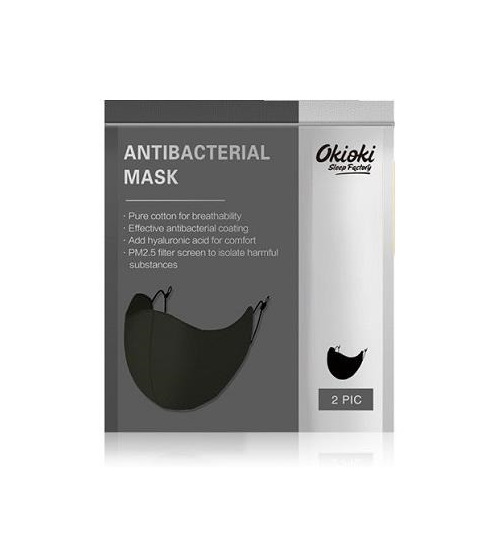 OKIOKI REUSABLE ADULT FACE MASK (2 PACK)