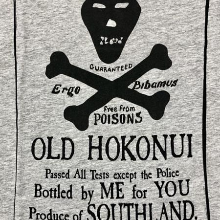 Old Hokonui Grey Male T-Shirt
