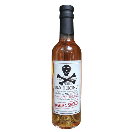 Old Hokonui Manuka Smoked Moonshine 375ml