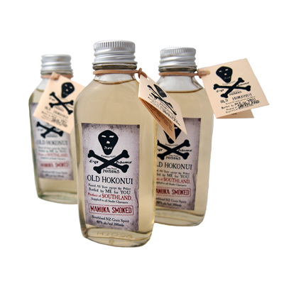 Old Hokonui Moonshine Manuka Smoked 100ml