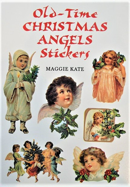 Old-Time Christmas Angels Stickers