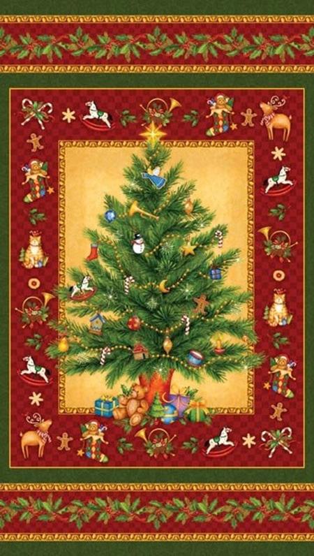 Old Time Christmas Panel
