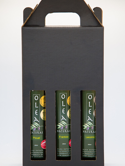 Olea Estate Extra Virgin Olive Oil - 3 x 250 ml  Gift Box
