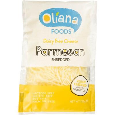 Oliana Dairy Free Parmesan Shreds