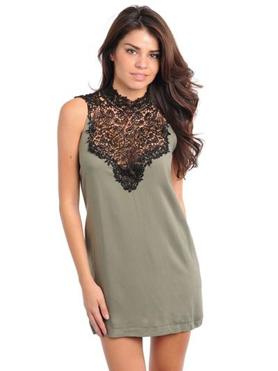 Olive Temptress Dress