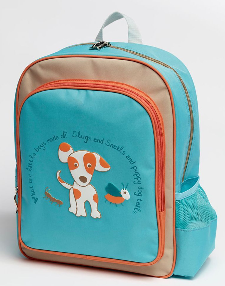 Oliver Puppy Backpack for school or preschool