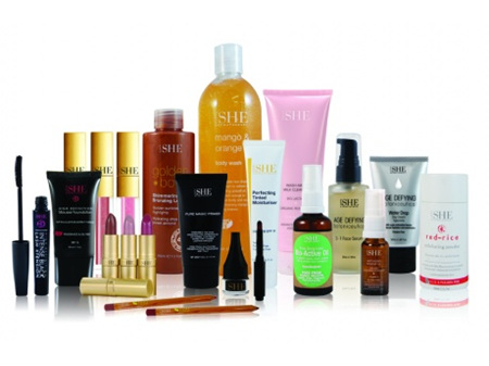 OM SHE cosmetics and skin care