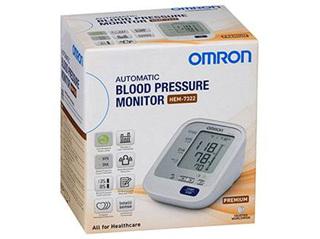 Omron Blood Pressure Monitor Premium HEM-7322