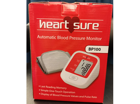 Omron Heart Sure Automatic Blood Pressure Monitor BP100