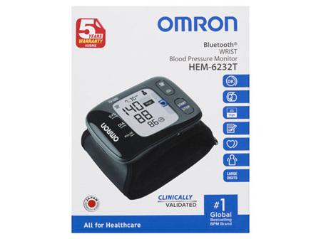 Omron HEM6232T Bluetooth® Wrist Blood Pressure Monitor