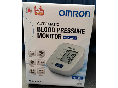 Omron  Standard Blood Pressure Monitor - HEM 7121
