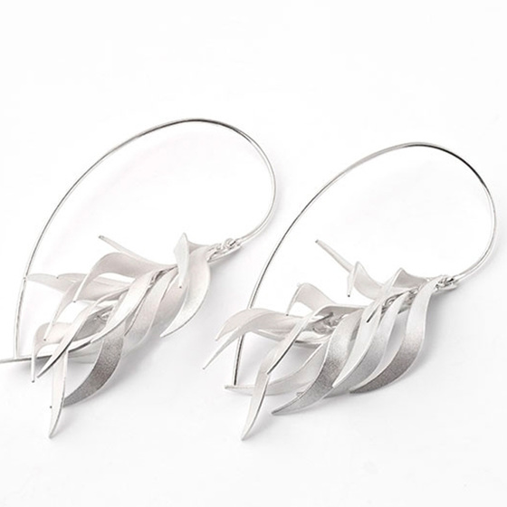 On Fire Earrings
